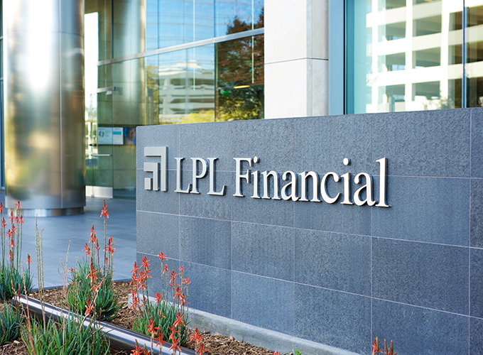 LPL Financial Office Sign