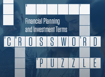 Financial Planning and Investments Terms Crossword Puzzle thumbnail